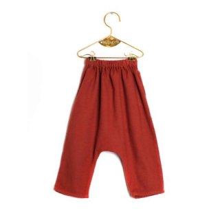 【30%OFF】WOLF&RITA [ウルフアンドリタ] /NELSON - Baggy Trousers /FOLK N' ROLL - BRICK - FLANNEL (Baby)