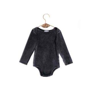 WOLF&RITA [ウルフアンドリタ] /ARTUR - Bodysuit LS /FADE OUT GREY (Baby)
