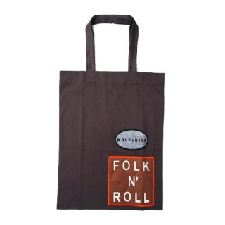 【30%OFF】WOLF&RITA [ウルフアンドリタ] / Tote Bag / Folk N'Roll