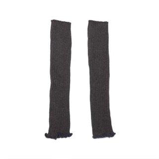 MINGO. [ミンゴ] Legwarmer / Grey melange / cotton/polyamide/elestan