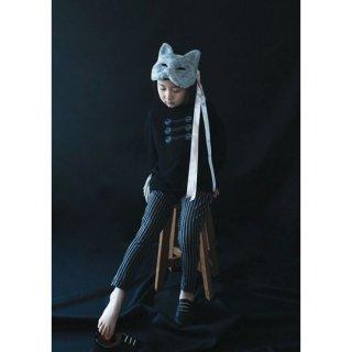 michirico [ミチリコ] / Stripe pants / BKGY