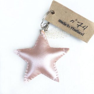 Numero74 [ヌメロ74] / Iridescent Star Key Chain / Pink