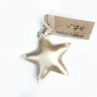 Numero74 [ヌメロ74] / Iridescent Star Key Chain / Gold