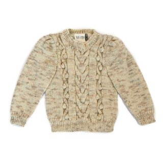 KalinkaKids [カリンカキッズ] / Sophia Sweater / Natural
