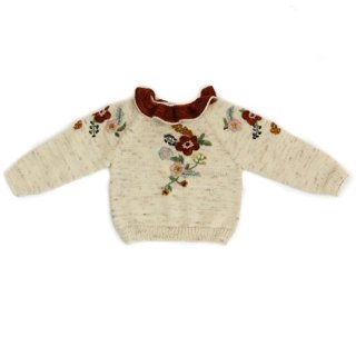 KalinkaKids [カリンカキッズ] / Stephanie Sweater / Natural