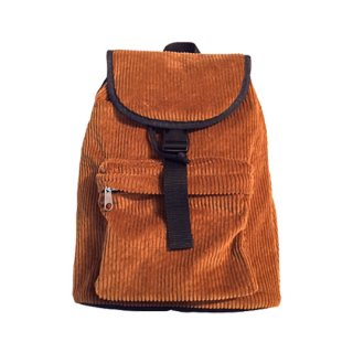 Soulsmania [ソウルズマニア]  CORDUROY RETRO BAG / Brown