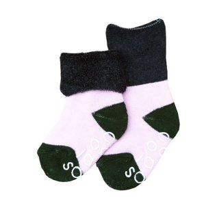 chocolatesoup [チョコレートスープ] / PILE MIDDLE SOCKS / NAVY PINK