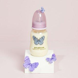 garbo&friends [ガルボアンドフレンズ] / THE BUTTERFLY 150 ml/ 5 oz / 哺乳瓶 ワイドサイズ0-3ヶ月用乳首つき