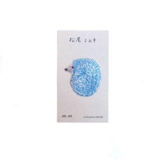 松尾ミユキ / Applique アップリケ / Hedgehog