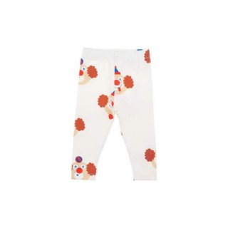 TINYCOTTONS / 'CLOWNS' PANT / off-white/sienna