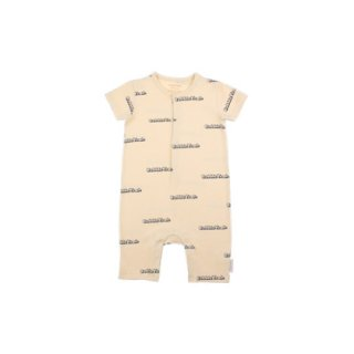 TINYCOTTONS / 'BUBBLE YEAH' RELAXED ONE-PIECE / cream/navy
