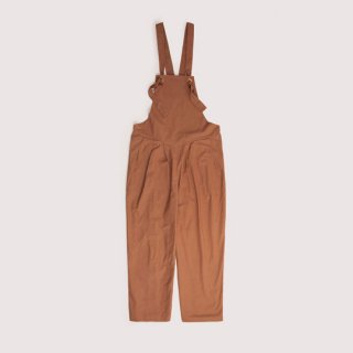 Citygoats / Campfire Work Playsuit / Burnt Umber