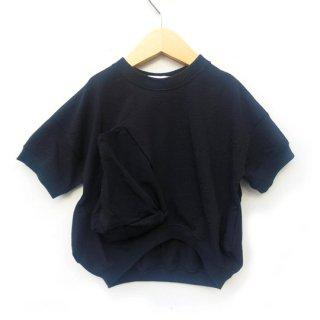 UNIONINI / ○△ T-shirt / black