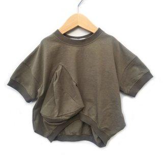 UNIONINI / ○△ T-shirt / khaki