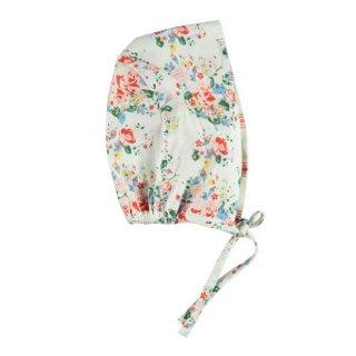 【30%OFF!】piupiuchick / Reversible bonnet / Flowers / Redstripes