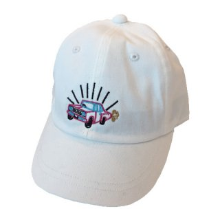 Soulsmania / EMBROIDERED CAP / WHITE
