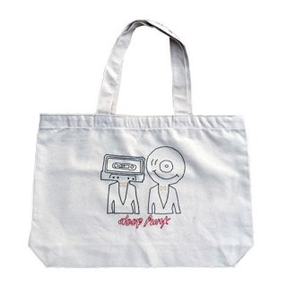 Soulsmania / EMBROIDERED BIG TOTE BAG / DEEPFUNK