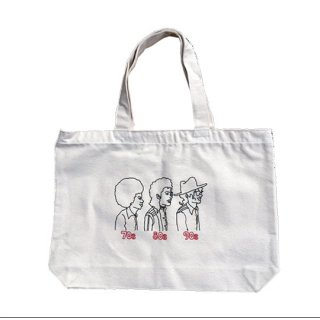 Soulsmania / EMBROIDERED BIG TOTE BAG /70s80s90s