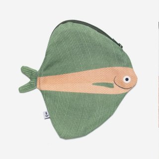 DON FISHER - Fanfish Green -Purse
