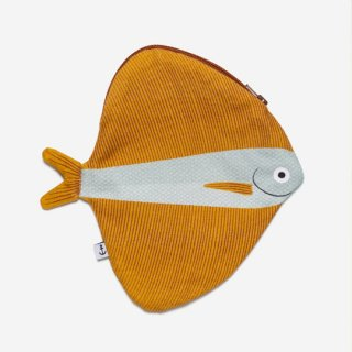 DON FISHER - Fanfish Orange -Purse
