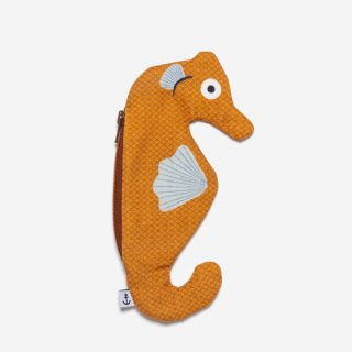 DON FISHER - Seahorse Orange  - Keychan