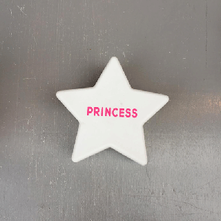 STAR FOOD CASE / Princess / White