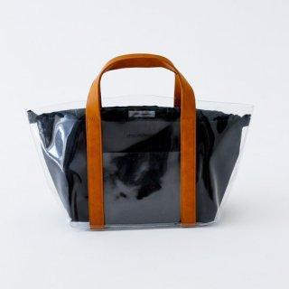 chocolatesoup / GEOMETRY CLEAR TOTE BAG / BLACK