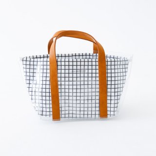 chocolatesoup / GEOMETRY CLEAR TOTE BAG / GRID