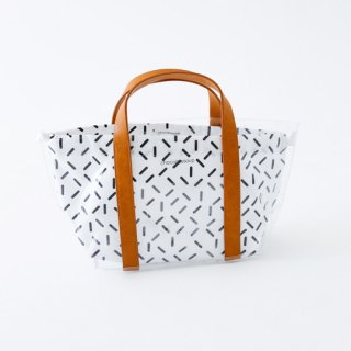 chocolatesoup / GEOMETRY CLEAR TOTE BAG /STICK
