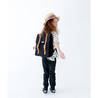 chocolatesoup / BIG SQUARE LESSON BAG / BLACK