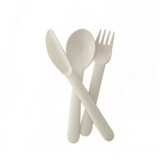 EKOBO / Cutlery Set - BIOBU - white