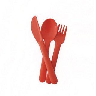 EKOBO / Cutlery Set - BIOBU - Persimmon