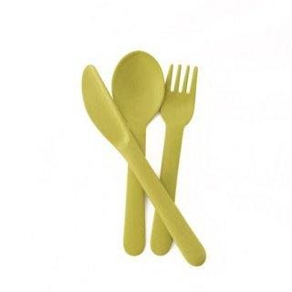 EKOBO / Cutlery Set - BIOBU - Lime