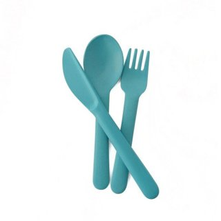 EKOBO / Cutlery Set - BIOBU - Lagoon