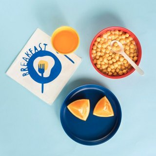 [再入荷]EKOBO /  Kids set4 - BIOBU - Lemon.Royalblue.tomato