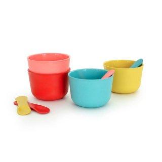 [再入荷]EKOBO /  Ice Cream Set - Coral.Lagoon.Lemon.Tomato