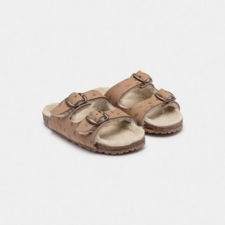BOBO CHOSES / STARS SHEEPSKIN SANDALS / Baby&Kid