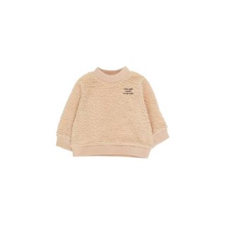 TINYCOTTONS / YOU ARE LUCKY SWEATSHIRT / sand/aubergine