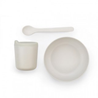 EKOBO /  Baby Bamboo Feeding Set - Cloud