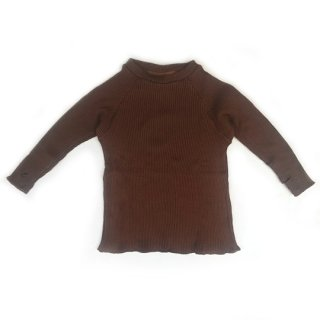 MOUN TEN. / softrib top / brown