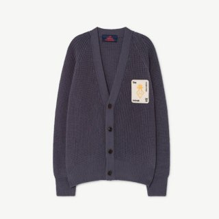 The Animals Observatory / PLAIN RACOON KIDS CARDIGAN / 1237