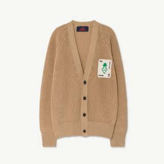 【40%OFF!】The Animals Observatory / PLAIN RACOON KIDS CARDIGAN / 1236