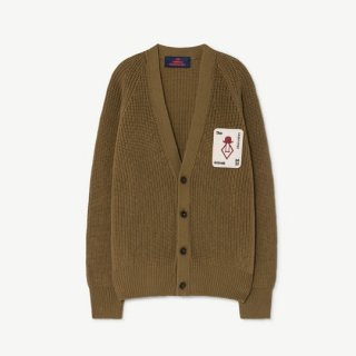 【40%OFF!】The Animals Observatory / PLAIN RACOON KIDS CARDIGAN / 1235