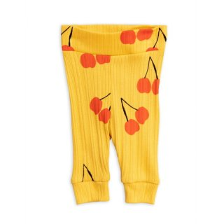 mini rodini / Cherry newborn leggings / 23. Yellow