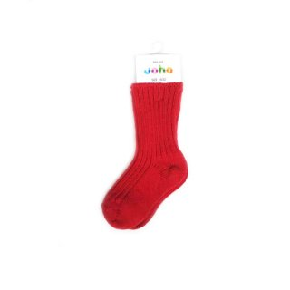 Joha / Wool Socks / Red