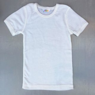 Joha / Merino Wool T-shirt / white