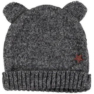 【20%OFF!】tocoto vintage / Bear knit hat / DARK GREY