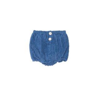 yellow pelota / Corduroy  bloomer (Unisex) / Blue