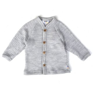 Joha / Bubble Knitting Cardigan / grey