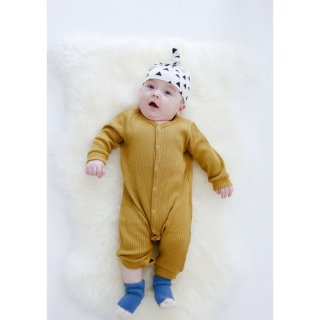chocolatesoup / LOW GAUGE TERECO ROMPERS / YELLOW